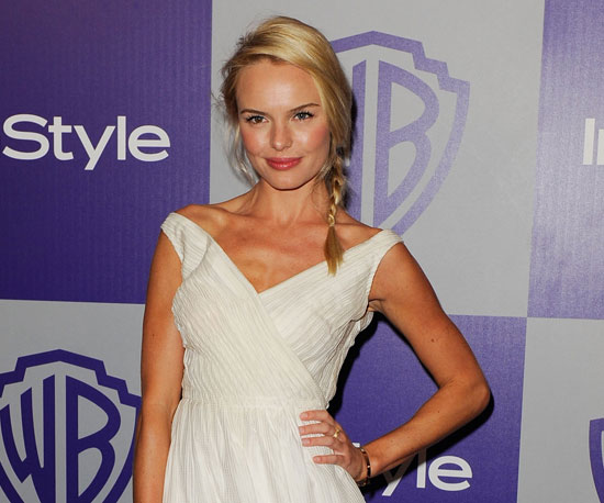 Slide of Kate Bosworth at Golden Globes Party