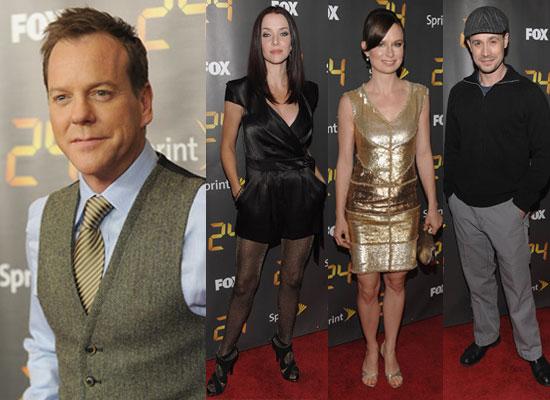 Watch Kiefer Sutherland in Dress on Letterman Video, Annie Wersching, Freddie Prinze Jr at 24 Season 8 Launch Pictures