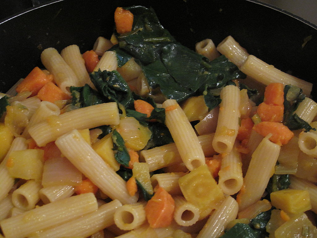 Photo Gallery: Rigatoni with Skillet-Roasted Root Vegetables