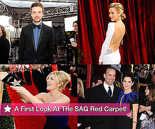 A First Look at the SAG Awards Red Carpet!