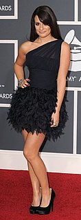Lea Michele at the 2010 Grammys
