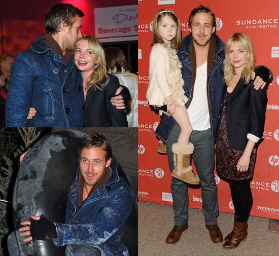 Ryan Gosling and Michelle Williams Photos at Sundance For Blue Valentine