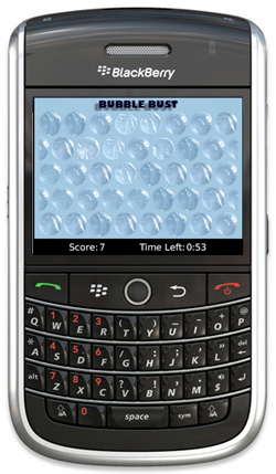 Bubble Wrap for BlackBerry