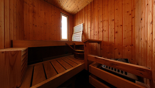 Use the Sauna to Relieve Sore Muscles