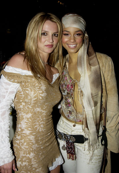 Britney Spears and Alicia Keys