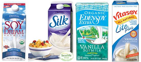 Calories in Soy Milk