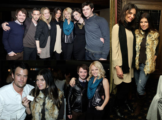Photos of Katie Holmes Promoting The Romantics at the 2010 Sundance Film Festival
