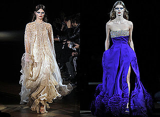 Givenchy at Spring 2010 Couture Fashion Week