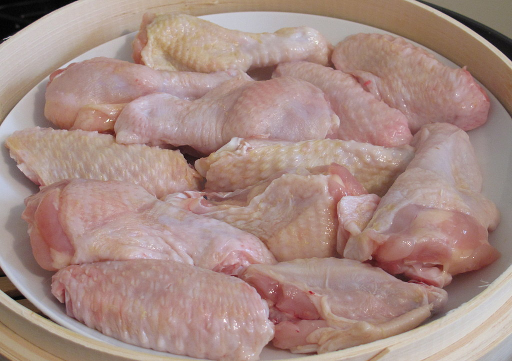 Have you ever prepped chicken wings for appetizers?