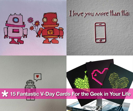 15 Geeky Valentine's Day Cards