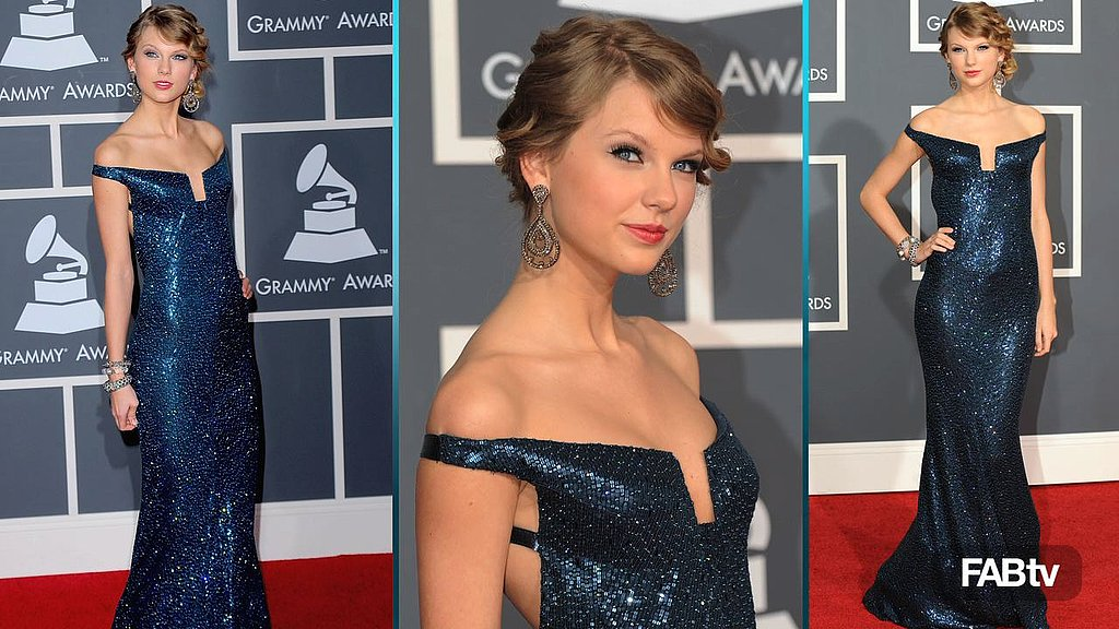 Taylor Swift, 2010 Grammy, Kaufman Franco, Celeb Style, Grammy Awards, Red Carpet, Fashion, Taylor Swift Wearing, Video