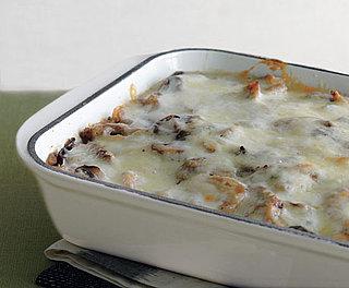 Mushroom, Seitan, and Polenta Vegetarian Lasagna Recipe