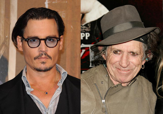 Johnny Depp to Direct Documentary About Keith Richards Confirmed