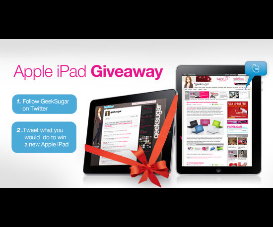 We're Giving Away an iPad!