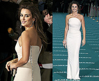 Photos of Penelope Cruz at the 2010 Goya Awards in Madrid, Spain