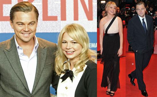Photos of Michelle Williams, Leonardo DiCaprio, Mark Ruffalo, And Martin Scorsese Promoting Shutter Island in Berlin