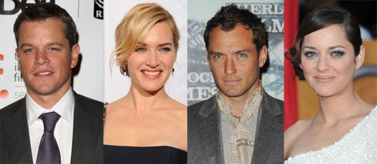 Matt Damon, Jude Law, Marion Cotillard, and Kate Winslet to Star in Steven Soderbergh's Contagion