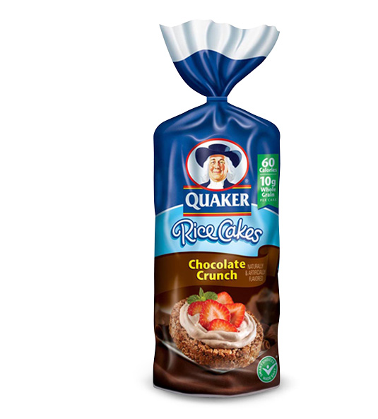 Quaker Rice Cakes Chocolate Quaker Chocolate Crunch Rice