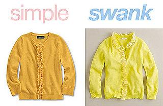 Ruffled Sweaters for Girls