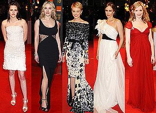 Best Dressed at the 2010 BAFTA Awards