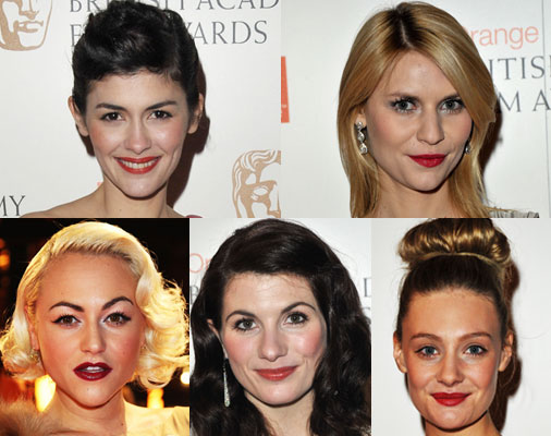 Red Lipstick at the 2010 BAFTA Awards