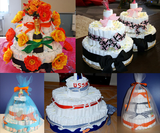 Have You Ever Made a Diaper Cake?