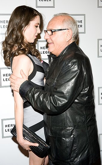 Alison Brie at Herve Leger Show