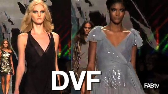 Diane von Furstenberg Fall 2010 New York Fashion Week What's Fab First Look