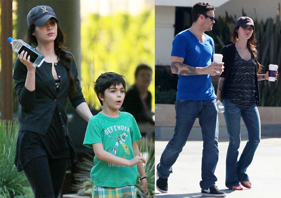 Photos of Megan Fox And Brian Austin Green Shopping With His Son Kassius After She Talks About Loving Children in W