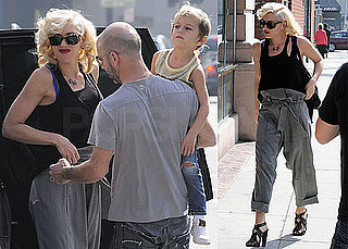 Photos of Gwen Stefani With Son Kingston Rossdale in LA