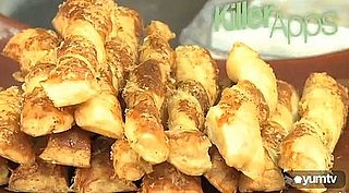 YumTV: Learn How to Make Parmesan Puff Pastry Twists