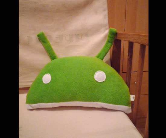 Android Robot Cushion ($20)