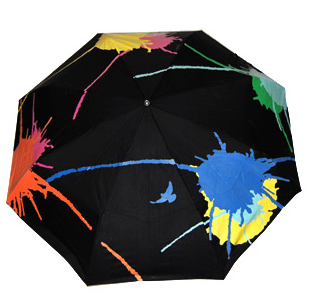 Color-Changing Umbrellas