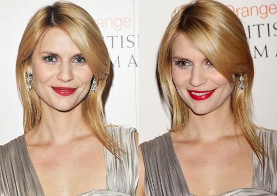 Claire Danes Hair at the 2010 BAFTA Awards