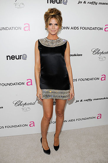 Heidi Klum(18th Annual Elton John AIDS Foundation Academy Award Party)