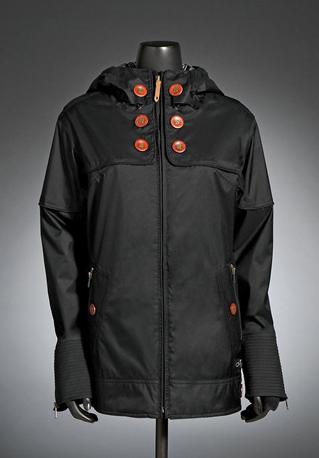 Gretchen Bleiler Lighter Fare Jacket 2.0, black ($220)