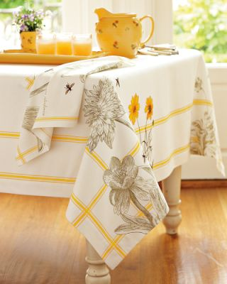 Off to Market: Everyday Tablecloth