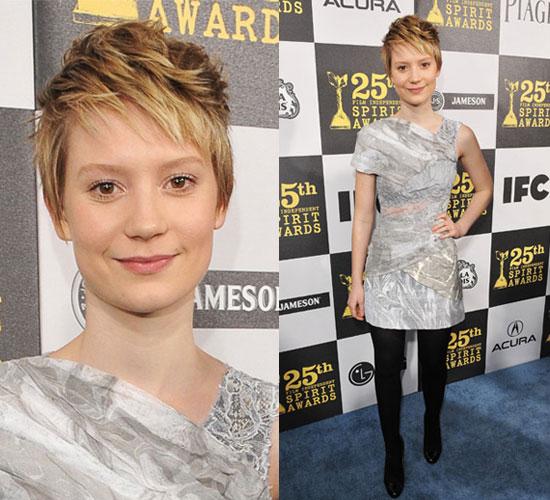 Mia Wasikowska at 2010 Independent Spirit Awards 2010-03-05 20:10:47