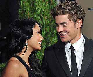 Slide Photo of Zac Efron and Vanessa Hudgens at Vanity Fair's Oscar Afterparty in LA