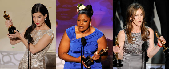 Highlights From Sandra Bullock, Mo'Nique, and Kathryn Bigelow's Oscar Acceptance Speeches