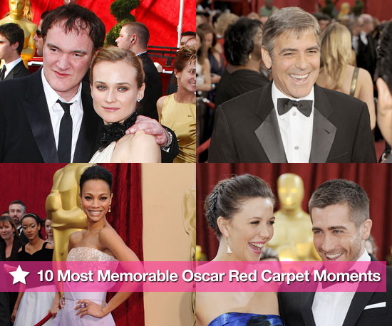 PopSugar's 10 Most Memorable Oscar Red Carpet Moments