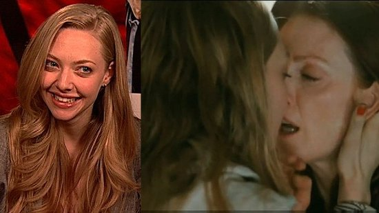 Amanda Seyfried Making Out With Julianne Moore in Chloe
