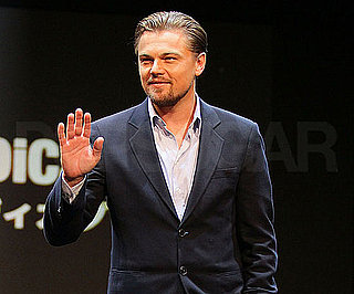 Slide Photo of Leonardo DiCaprio in Japan for Shutter Island