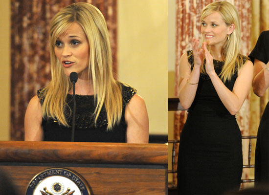 Photos of Reese Witherspoon in Washington DC on Behalf of Avon 2010-03-11 17:00:00