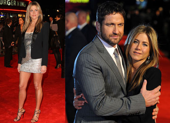 Photos of Jennifer Aniston And Gerard Butler at The London Premiere of The Bounty Hunter