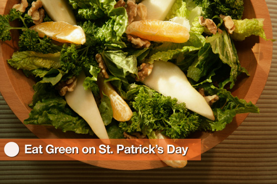 Healthy Green Foods to Eat on St. Patrick's Day