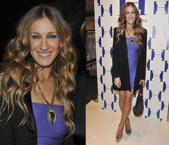 Photos of Sarah Jessica Parker at Halston Heritage in Canada