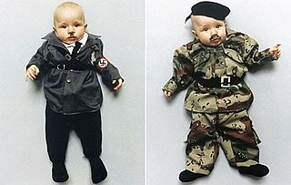 Lil Links: Activist Dresses Her Baby Like Hitler