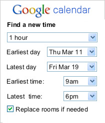 Find the Best Meeting Times With Google Calendar