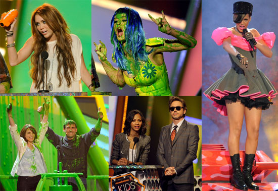 Photos of Katy Perry, Adam Sandler, Kevin James, Jesse McCartney, Anna Faris, And Rihanna at The 2010 Kids' Choice Award